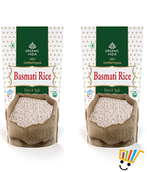 Organic India Rice- Pack Of 2