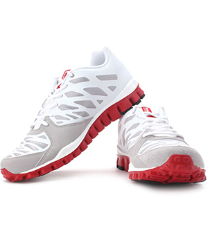huge discount c972f 0997e Buy Reebok Realflex Transition 2 LP Running Shoes White Red Grey   Cheer  Shopping