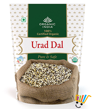 Organic India Urad Dal- Pack Of 2