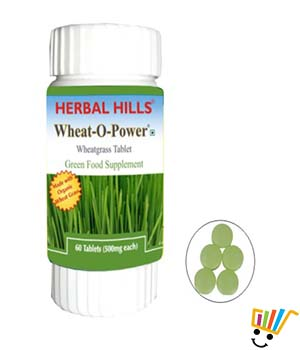 Herbal Hills Wheat Grass Healthy Cell care WP023