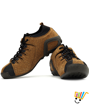 Woodland Outdoor Sneakers Camel WDL0095