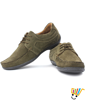 Buy Woodland Corporate Casuals Green