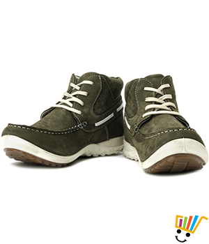 Woodland Boots Olive Green WDL0104