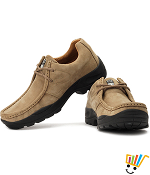 Woodland Outdoor Shoes Khaki - G4035W13