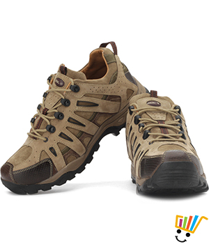 Woodland Outdoor Shoes Khaki 712109