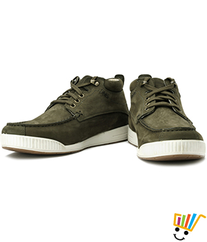 Woodland Outdoor Sneakers Olive Green WDL0103