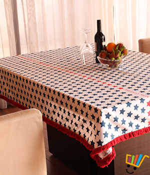 American Swan Starry Seattle Tablecloth SKU101768