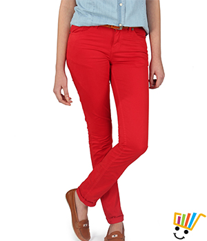 American Swan Reno Red Jeans 100983