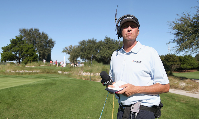 "Jim ""Bones"" Mackay Becomes On-Course Reporter For NBC/Golf Channel"