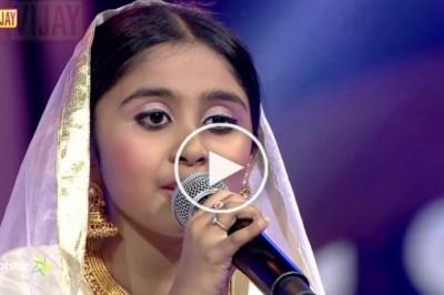 Kannaalanae by Pallavi - Super Singer Junior