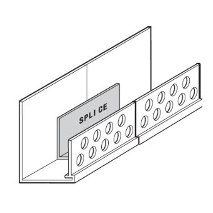 1 1/2 in x 10 ft Vinyl Corp  EIFS PB Starter Strip/Casing