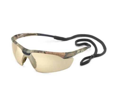 Gateway Safety Conqueror Safety Glasses - Camo Frame/Bronze Mirror Lens