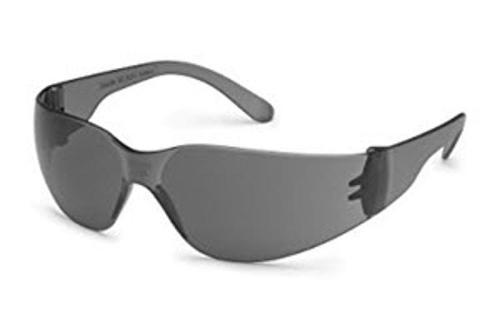Starlite Safety Glasses - Gray Frame/Gray Lens