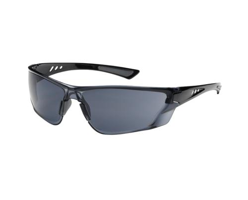 PIP Recon Rimless Safety Glasses - Black Frame/Gray, Anti-Scratch Fogless 3Sixty Lens