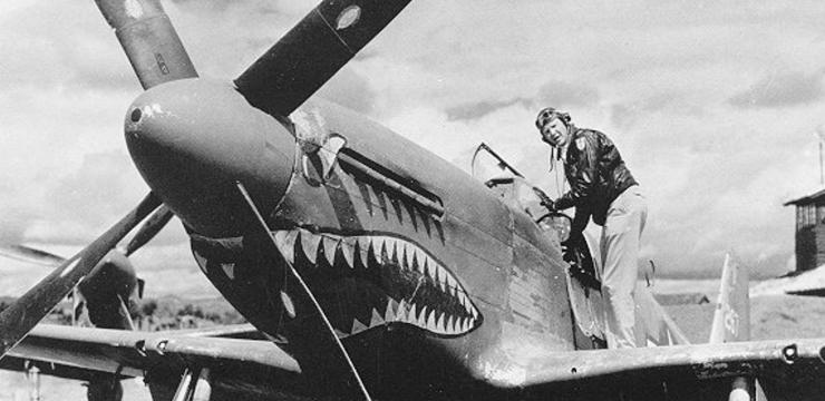 Tex Hill P 51