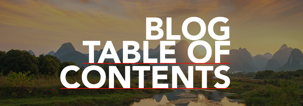 The CLI Blog Table of Contents helps you find CLI blog posts