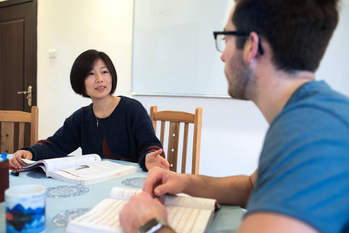 Learning Chinese one-on-one in China is the best method to fluency