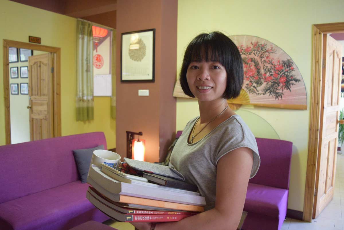 CLI's Chinese teachers have degrees in teaching Chinese as a second language