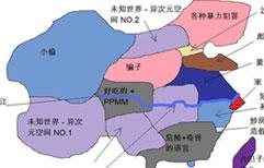 北京人上海人眼中的中国地图