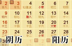Birthday on the Lunar Calendar