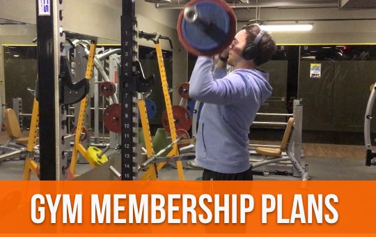 Gym Memberships Plans