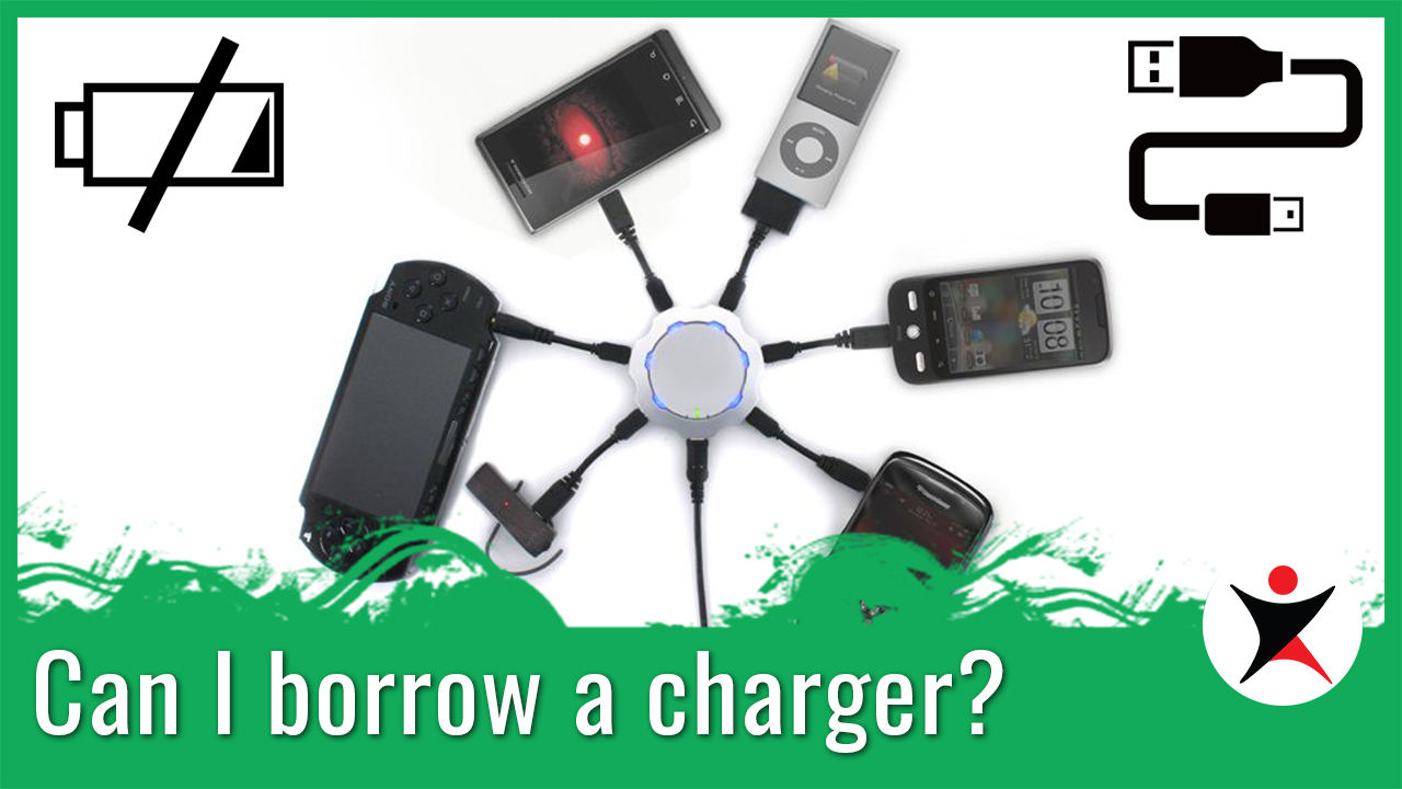 May I Borrow a Charger?
