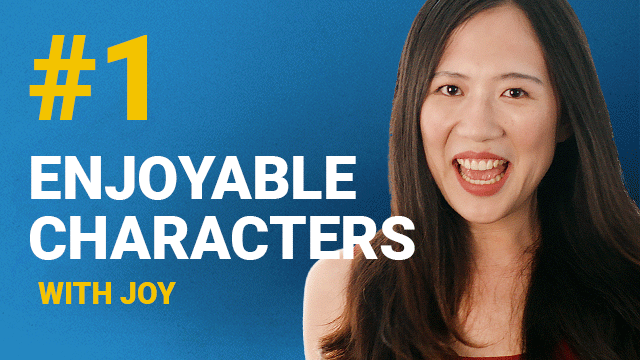 66 Enjoyable Characters with Joy #1