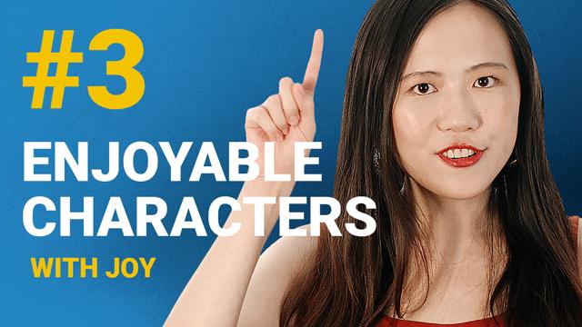 66 Enjoyable Characters with Joy #3