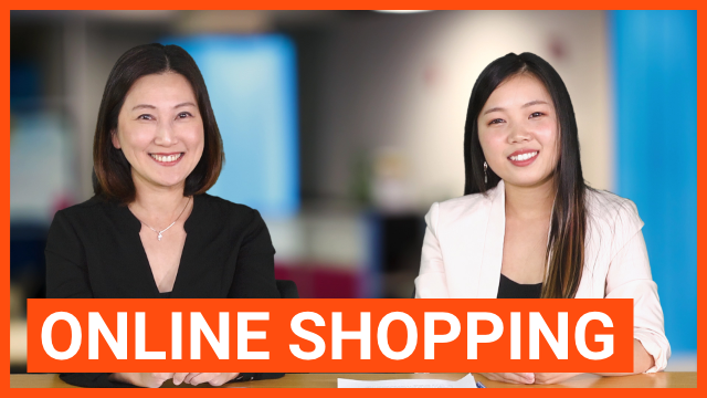 Online Shopping 网上购物