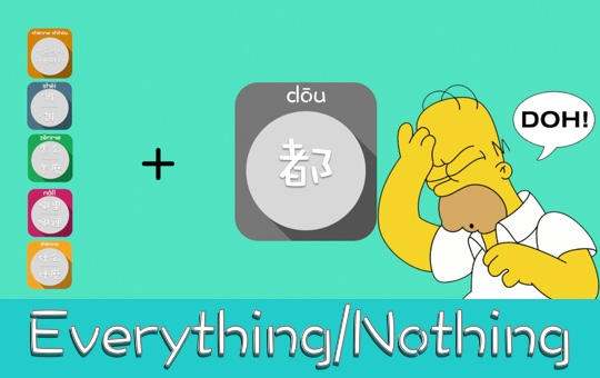 Everything and Nothing: Question Word & 都 [VIDEO]