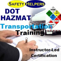 DOT - HAZMAT Transportation Certification Chicago Area