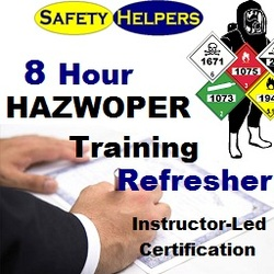 HAZWOPER 8 Hour Refresher Certification Chicago Area