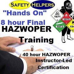 "HAZWOPER ""Hands On"" Training w/ 40 hour HAZWOPER Certification Indianapolis"