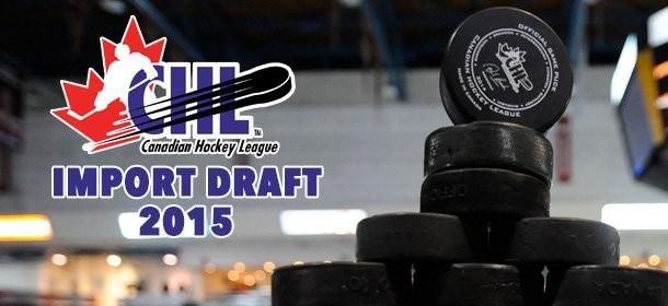2015 Canadian Hockey League import draft results – QMJHL