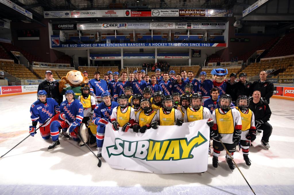 Amateur Hockey Teams Get Big League Treatment Courtesy Of Subway