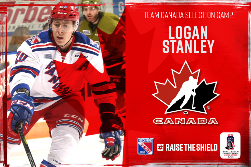 Logan Stanley Invited To Canada S National Junior Team Sport Chek