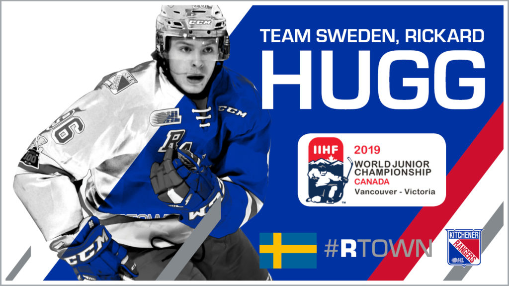 Rickard Hugg Named To Preliminary Roster For Team Sweden At World