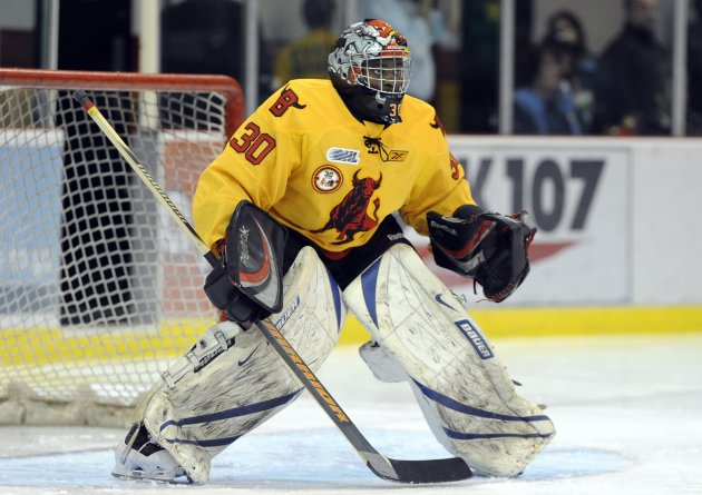 Bulls Malcolm Subban Named Vaughn Chl Goaltender Of The Week
