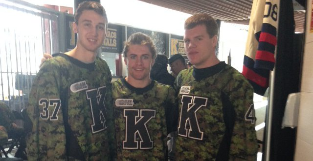 Frontenacs unveil special Canadian Forces uniform – Ontario Hockey
