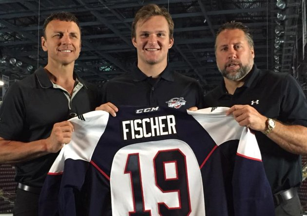sports shoes 2a6a7 71848 Coyotes prospect Christian Fischer commits to Spitfires ...