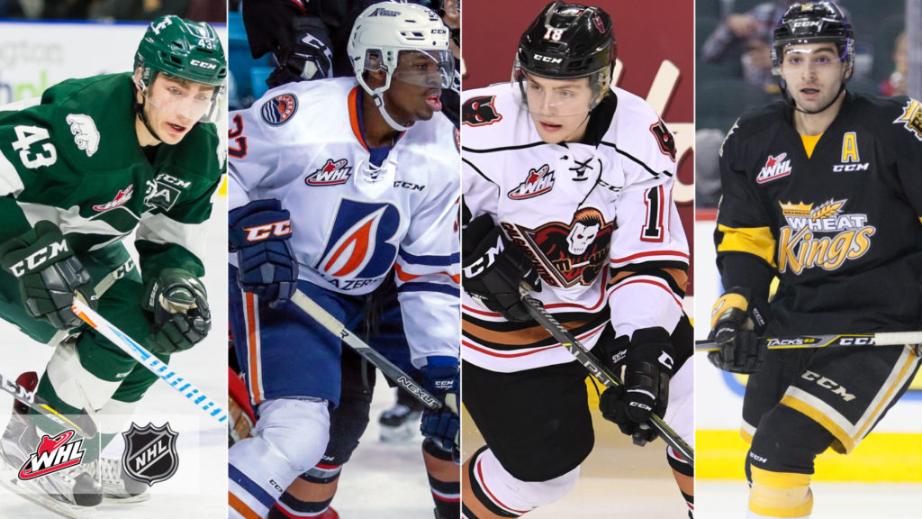 brand new c5e62 9eec3 117 WHL players attending NHL training camps - Vancouver Giants