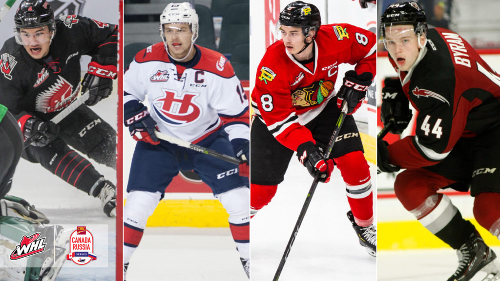 Team Whl Roster Announced For 2018 Cibc Canada Russia Series Whl