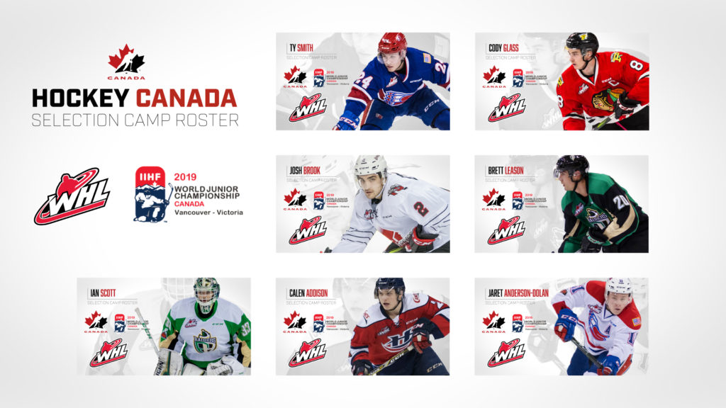 Whl Sends Seven Players To Canada S National Junior Team Sport Chek