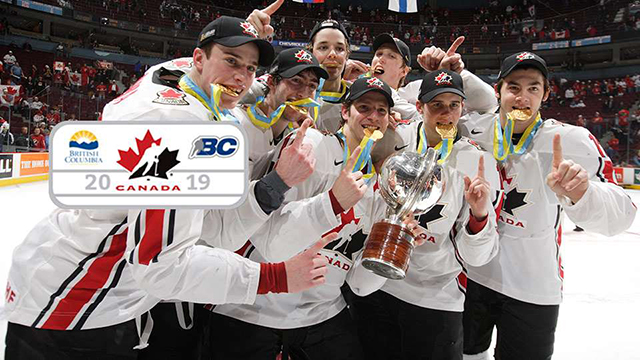 Vancouver And Victoria To Host 2019 World Junior Championship