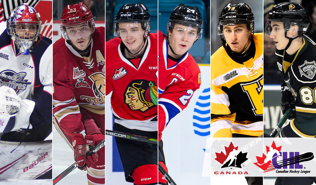 30 Chl Players Named To Canada S National Junior Team Selection Camp