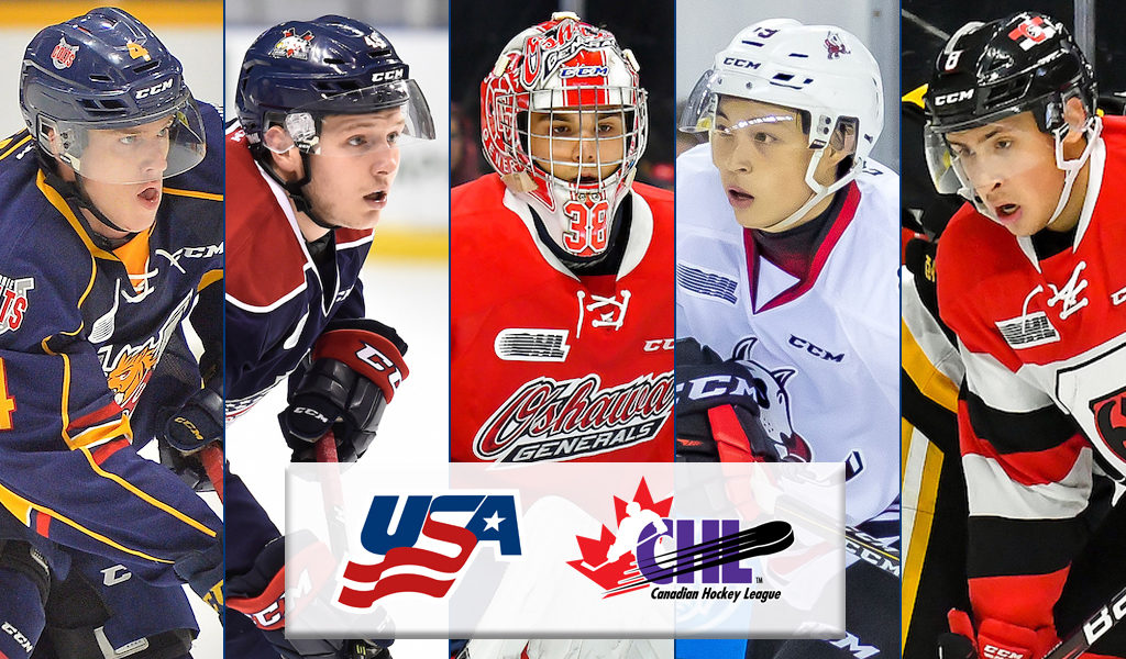 Five Chl Players Named To U S National Junior Team Selection Camp Chl