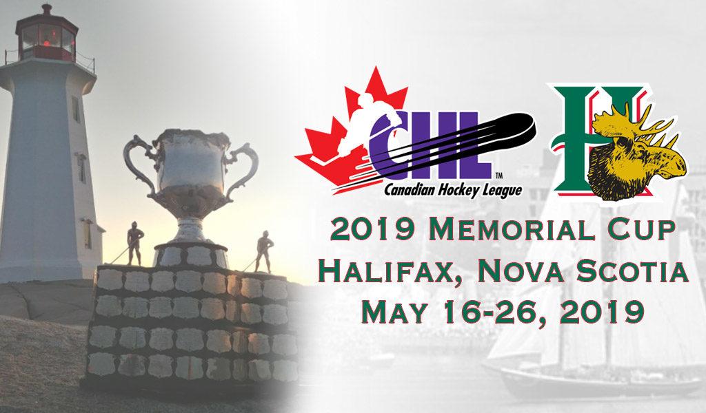 Halifax Mooseheads To Host 2019 Memorial Cup Memorial Cup