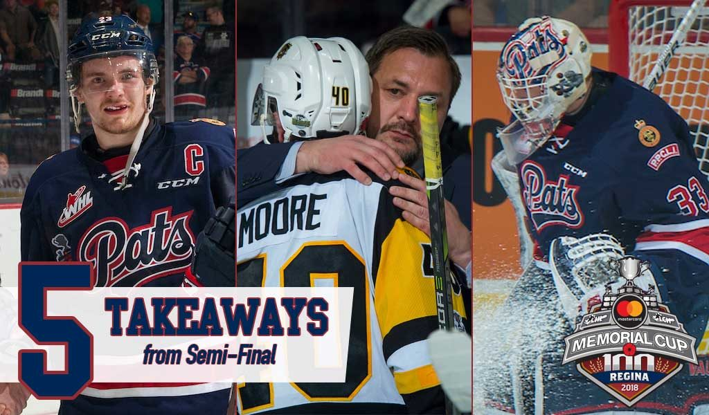 Five Takeaways From Regina S Semi Final Victory Memorial Cup