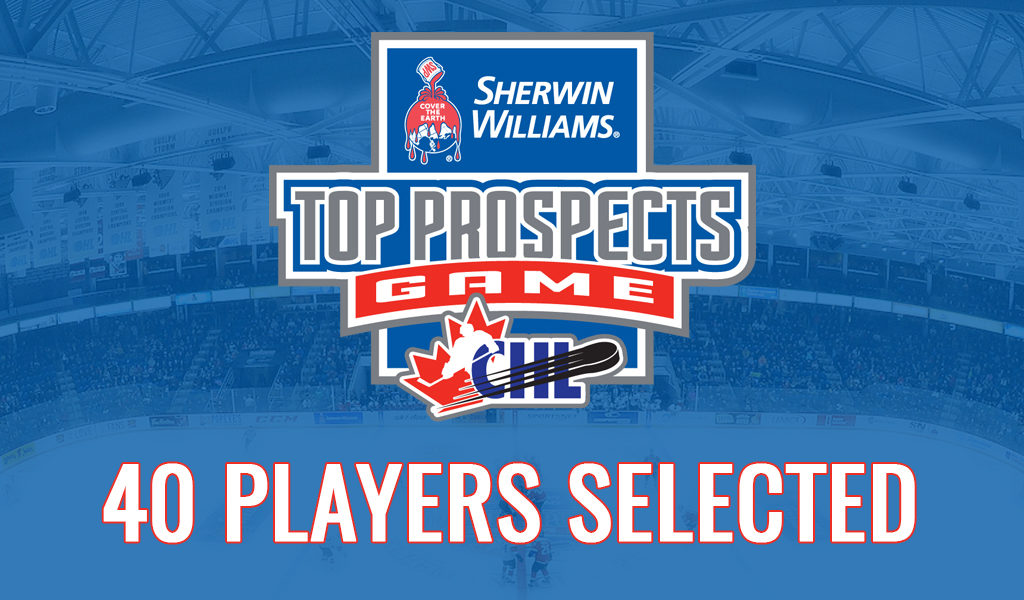 40 Players Selected For 2019 Sherwin Williams Chl Nhl Top Prospects
