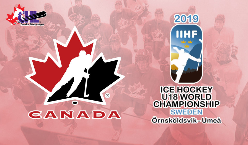Hockey Canada Announces Training Camp Roster For 2019 Iihf U18 World